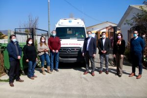 Fundación BanAmor recibe donación de una ambulancia 0 km por parte de Vías Chile